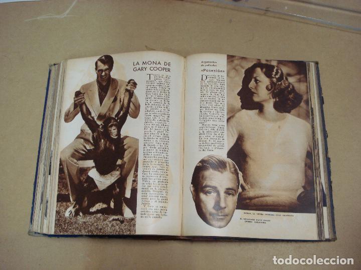 Cine: CINEMA REVISTA ENCUADERNADA 1930s - Foto 5 - 287541148