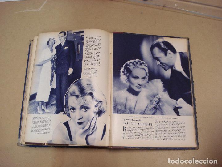 Cine: CINEMA REVISTA ENCUADERNADA 1930s - Foto 6 - 287541148