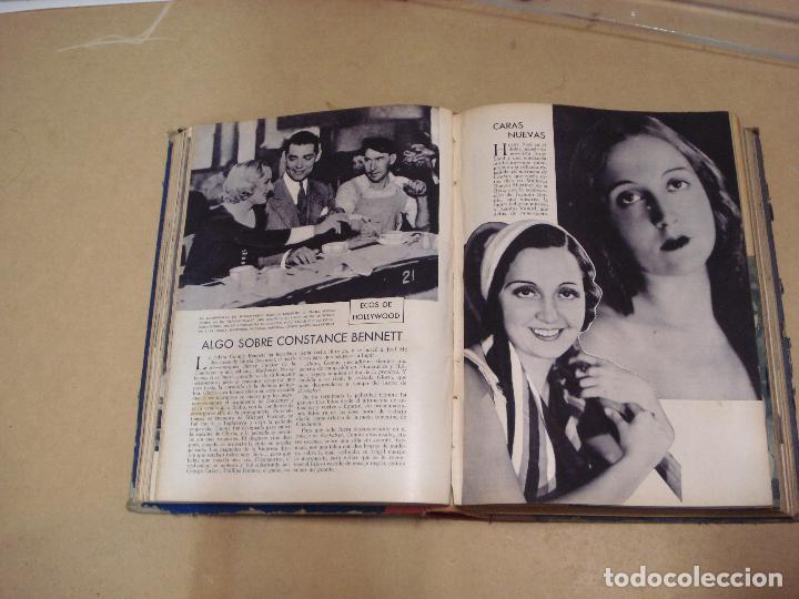 Cine: CINEMA REVISTA ENCUADERNADA 1930s - Foto 7 - 287541148