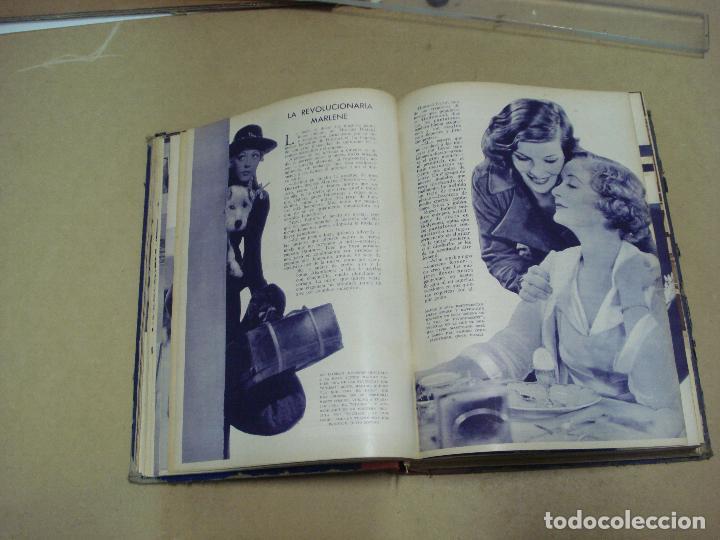 Cine: CINEMA REVISTA ENCUADERNADA 1930s - Foto 8 - 287541148