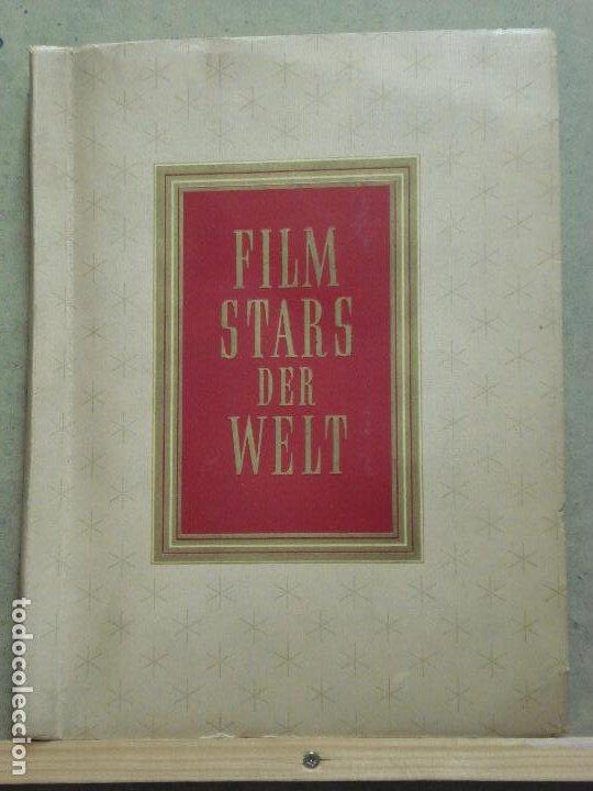 Cine: ABK07 FILM STARS DER WELT ALBUM DE FOTOS ALEMAN DE ESTRELLAS DE CINE - Foto 3 - 287544163