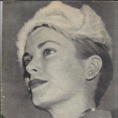 Cine: FILM IDEAL Nº 1 OCTUBRE DE 1956 EN LA PORTADA, GRACE KELLY CONTIENE 32 PÁGINAS. Lote 287475318