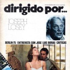 Cine: DIRIGIDO POR NUMERO 25. Lote 287585043