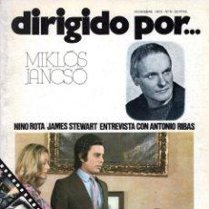 Cine: DIRIGIDO POR NUMERO 8. Lote 287639983