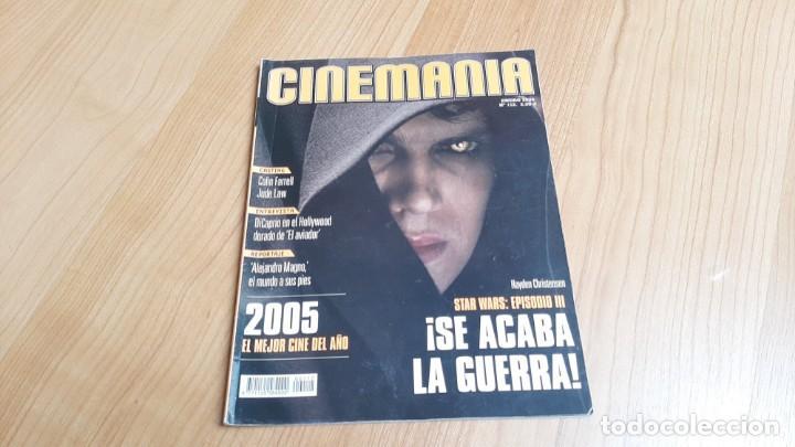 CINEMANÍA - Nº 112 ENERO 2005 - EL AVIADOR, DI CAPRIO, JUDE LAW, JAVIER PERERIRA, STAR WARS, NIETOS (Cine - Revistas - Cinemanía)