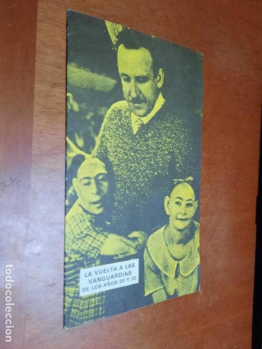 CINE. VANGUARDIAS DE LOS AÑOS 20 Y 30. CATÁLOGO DE MANO DE CICLO CINE MUDO. CINE-CLUB UNIVERSITARIO (Cine - Revistas - Otros)