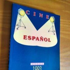 Cine: CINE ESPAÑOL 1993 . SPANISH CINEMA. CINEMA ESPAGNOL. Lote 287957408