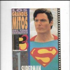 Cine: LOS GRANDES MITOS DEL CINE FANTASTICO COLECCIÓN COMPLETA SON 12 FACISCULOS MUY NUEVOS VER FOTOS. Lote 287975968