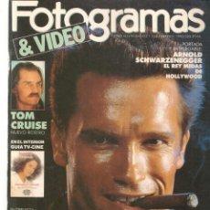 Cine: FOTOGRAMAS. Nº 1760. DESPLEGABLE: ARNOLD SCWARZENEGGER. FEBRERO, 1990.(B/42). Lote 288049538