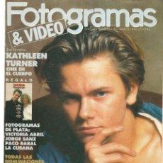 Cine: FOTOGRAMAS. Nº 1761. DESPLEGABLE: RIVER PHOENIX. MARZO, 1990.(B/42). Lote 288049923