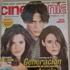 Cine: CINEMANIA N° 59 AGOSTO 2000 (INCLUYE 8 POSTERS). Lote 288183918