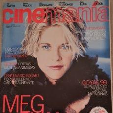 Cine: CINEMANIA N° 41 FEBRERO 1999 (CONTIENE CARTEL DE SEVEN, NO TIENE EL SUPLEMENTO). Lote 288188568