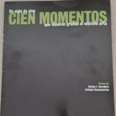 Cine: COLECCIONABLE CINEMANIA UN SIGLO DE CINE CIEN MOMENTOS QUE HICIERON GRANDE EL SEPTIMO ARTE. Lote 288192498