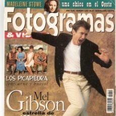 Cine: FOTOGRAMAS. Nº 1810. MEL GIBSON / EL CINE CHINO. AGOSTO,1994.(B/42). Lote 288317883