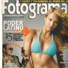 Cine: FOTOGRAMAS. Nº 1944. JESSICA ALBA / ROSARIO DAWSON. OCTUBRE, 2005.(B/42). Lote 288325143