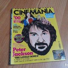 Cine: CINEMANÍA - Nº 172 ENERO 2010 - PETER JACKSON, JORDI MOLLÁ, JAMES CAMERON, HNOS. COEN, WERNER HERZOG. Lote 288463703