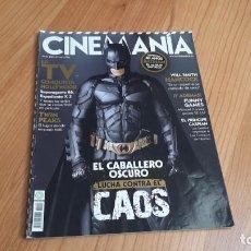 Cine: CINEMANÍA - Nº 154 JULIO 2008 - BATMAN 40 AÑOS, HARRY POTTER, SIDNEY POLLACK, FERNANDO COLOMO, HULK. Lote 288483263