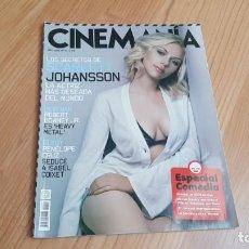 Cine: CINEMANÍA - Nº 151 ABRIL 2008 - SCARLETT JOHANSSON, CHARLOT, ESPECIAL COMEDIA, PENÉLOPE CRUZ. Lote 288483703