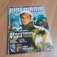 Cine: CINEMANÍA - Nº 138 MARZO 2007 - INDIANA JONES, JIM CARREY, JAVIER BARDEM, STAR WARS, MONSTRUOS. Lote 288486408