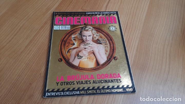 CINEMANÍA - Nº 147 DICIEMBRE 2007 - NICOLE KIDMAN, NATALIA VERBEKE, EDUARDO NORIEGA, STAR WARS (Cine - Revistas - Cinemanía)