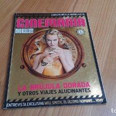 Cine: CINEMANÍA - Nº 147 DICIEMBRE 2007 - NICOLE KIDMAN, NATALIA VERBEKE, EDUARDO NORIEGA, STAR WARS. Lote 288506978