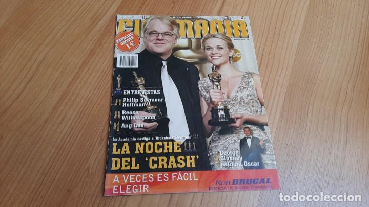 CINEMANÍA - ESPECIAL OSCARS, MARZO 2006 - ANG LEE, SEYMOUR HOFFMAN, CLOONEY, ROBERT ALTMAN (Cine - Revistas - Cinemanía)