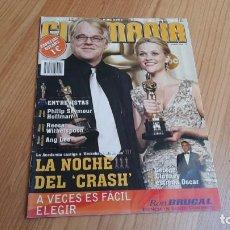 Cine: CINEMANÍA - ESPECIAL OSCARS, MARZO 2006 - ANG LEE, SEYMOUR HOFFMAN, CLOONEY, ROBERT ALTMAN. Lote 288507623