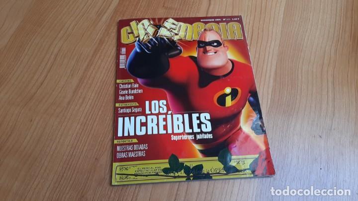 CINEMANÍA - Nº 111 DICIEMBRE 2004 - ANA BELÉN, SANTIAGO SEGURA, LOS INCREÍBLES, LOOKING FOR FIDEL (Cine - Revistas - Cinemanía)