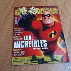 Cine: CINEMANÍA - Nº 111 DICIEMBRE 2004 - ANA BELÉN, SANTIAGO SEGURA, LOS INCREÍBLES, LOOKING FOR FIDEL. Lote 288511173