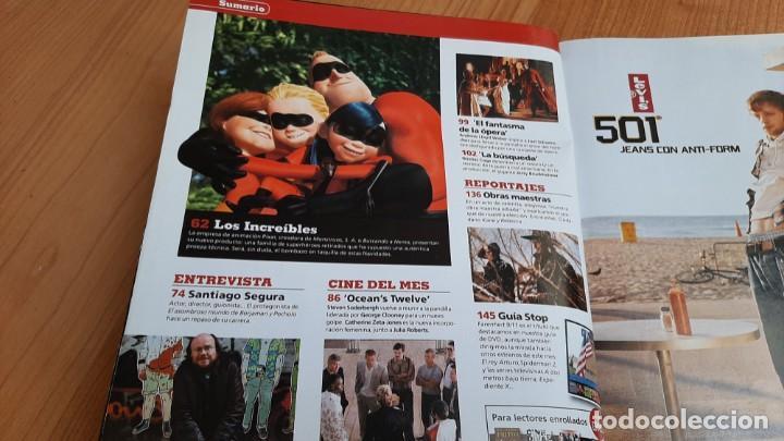 Cine: Cinemanía - nº 111 Diciembre 2004 - Ana Belén, Santiago Segura, Los Increíbles, Looking For Fidel - Foto 2 - 288511173