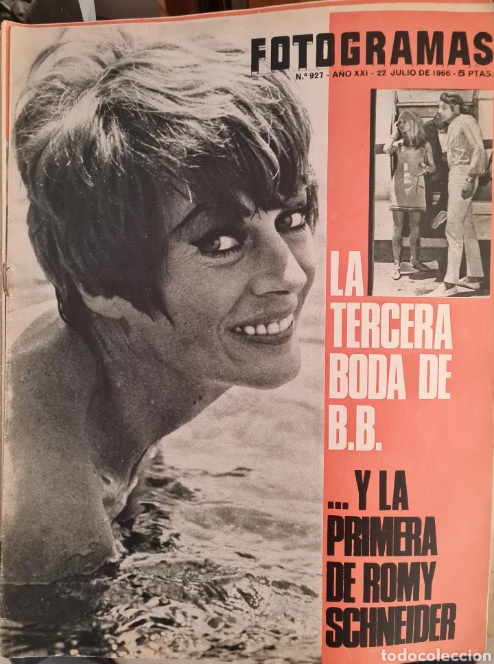 FOTOGRAMAS N° 927 JULIO 1966 (Cine - Revistas - Fotogramas)