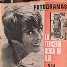 Cine: FOTOGRAMAS N° 927 JULIO 1966. Lote 288541668