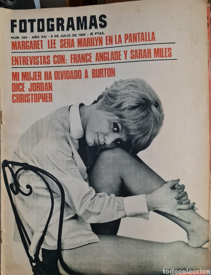 FOTOGRAMAS N° 925 JULIO 1966 (Cine - Revistas - Fotogramas)