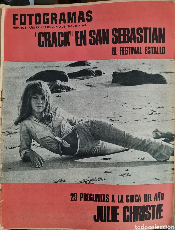 FOTOGRAMAS N° 923 JUNIO 1966 (Cine - Revistas - Fotogramas)