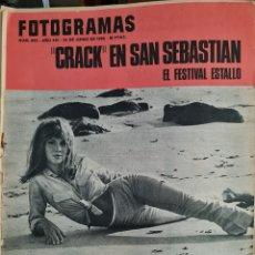 Cine: FOTOGRAMAS N° 923 JUNIO 1966. Lote 288543793