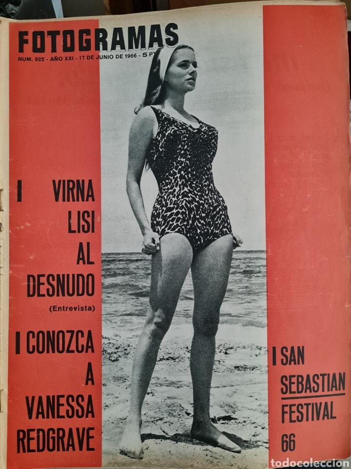 FOTOGRAMAS N° 922 JUNIO 1966 (Cine - Revistas - Fotogramas)