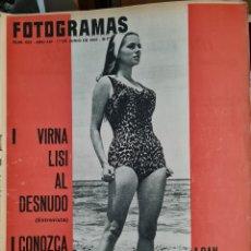 Cine: FOTOGRAMAS N° 922 JUNIO 1966. Lote 288544313