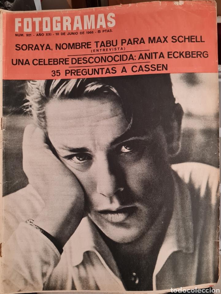 FOTOGRAMAS N° 921 JUNIO 1966 (Cine - Revistas - Fotogramas)