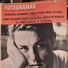 Cine: FOTOGRAMAS N° 921 JUNIO 1966. Lote 288551638