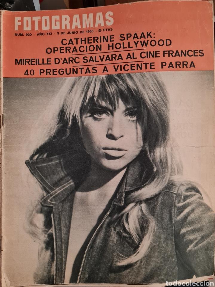 FOTOGRAMAS N° 920 JUNIO 1966 (Cine - Revistas - Fotogramas)