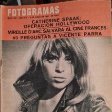 Cine: FOTOGRAMAS N° 920 JUNIO 1966. Lote 288552463
