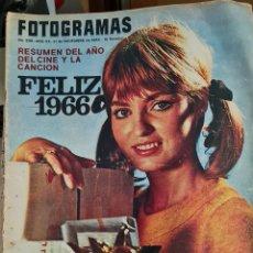Cine: FOTOGRAMAS N° 898 DICIEMBRE 1965. Lote 288553443