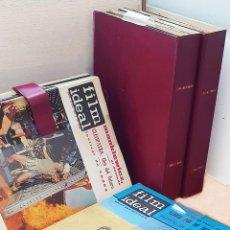 Cine: FILM IDEAL Nº 87 AL 158 (AÑOS 1962, 1963 Y 1964 COMPLETOS / 3 CARPETAS). Lote 288595383