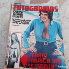 Cine: FOTOGRAMAS Nº 1195, POSTER COLETTE JACK, SERRAT, DULCE OLIVIA, COLETTE JACK, ALFREDO MAYO, BUD CORT. Lote 288894188