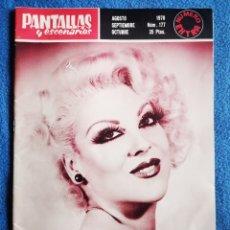 Cine: PANTALLAS Y ESCENARIOS - 1978 - N 177. Lote 288944053