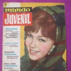 Cine: MUNDO JUVENIL REVISTA DE LOS AMIGOS DE MARISOL Nº6. Lote 289259298