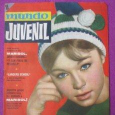 Cine: MUNDO JUVENIL REVISTA DE LOS AMIGOS DE MARISOL Nº 14. Lote 289259493