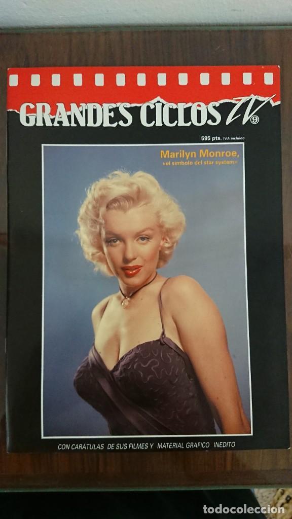 GRANDES CICLOS TV - MARILYN MONROE 1993 (Cine - Revistas - Otros)
