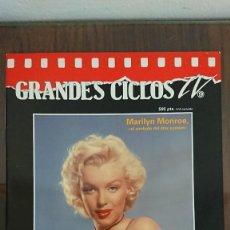 Cine: GRANDES CICLOS TV - MARILYN MONROE 1993. Lote 289322823