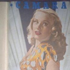 Cine: REVISTA CAMARA REVISTA CINE 1947 1ER. SEMESTRE ENCUADERNADO. Lote 289455463